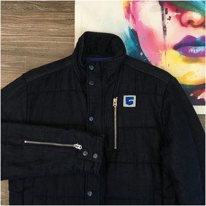 G-Star Raw S.O Park Quilted Overshirt Jacket Mens
